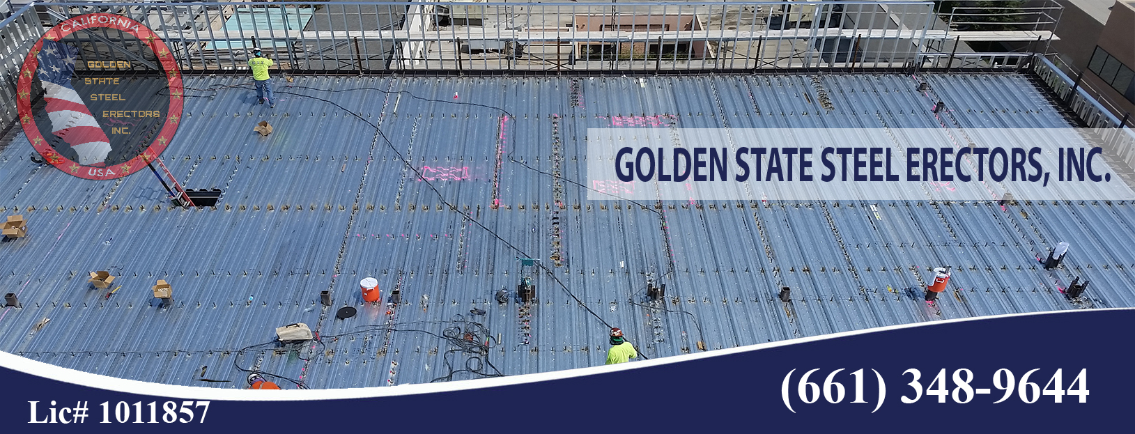 Bakersfield Steel erection Metal decking installation Open web joists & Girders